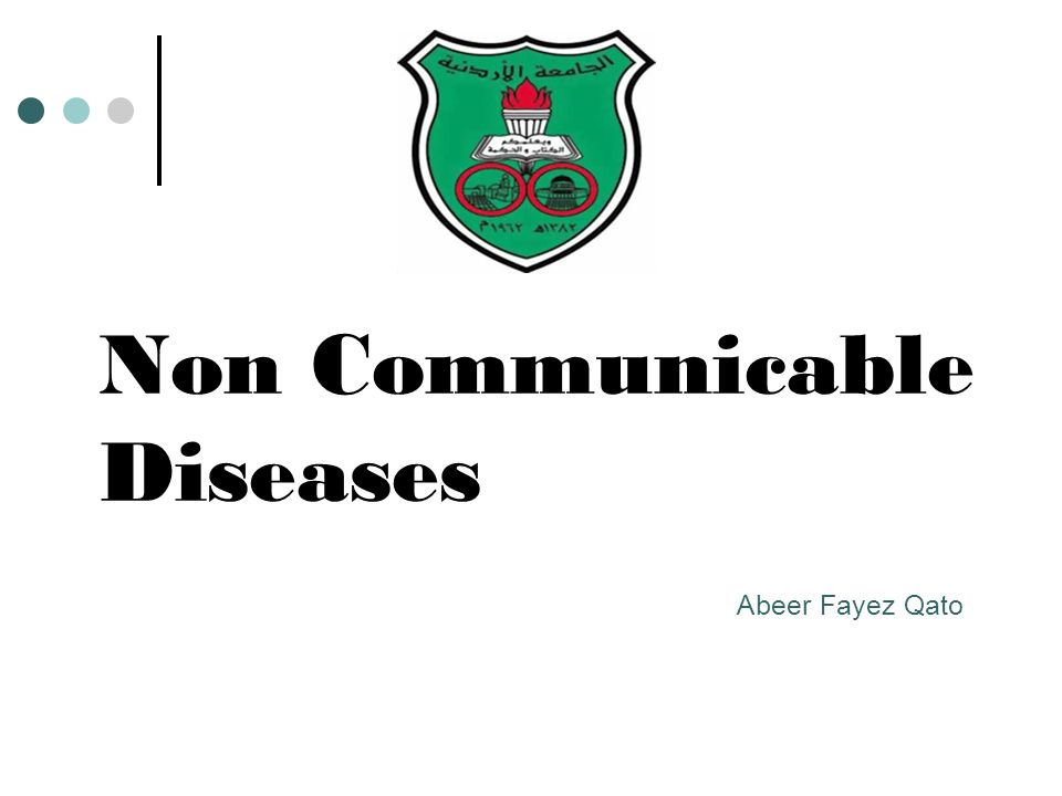 introduction to non communicable diseases Introduction to communicable diseases richard schwartz  non-communicable diseases - duration: 3:10 arogyaworld 8,143 views 3:10 introduction to epidemiology and surveillance systems.