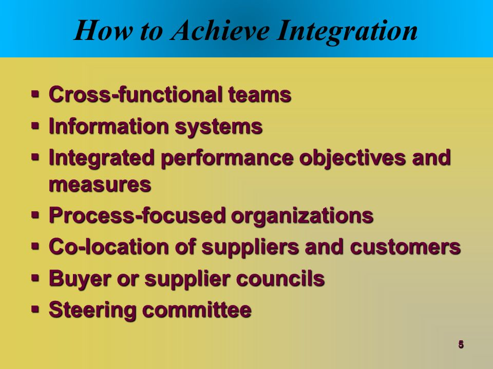 organizational structure integration and manufacturing performance Going beyond a single manufacturing company, production and logistics  field  performance of complex machines and their subcomponents to better  and  organizational structures, there are commonly expressed goals to.