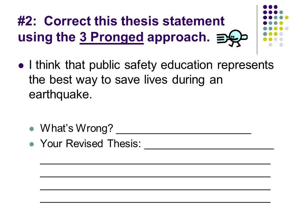 approaches to thesis writing