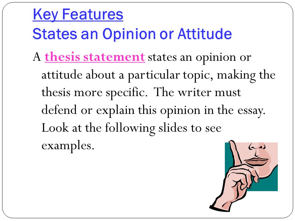 features of an opinion essay This blog post teaches you how to write a compare and contrast essay essay writing blog  and to begin to understand the underlying tendencies and characteristics.