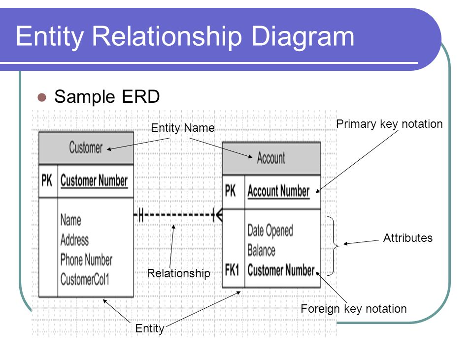 Dbs201: Entity Relationship Diagram - Ppt Download