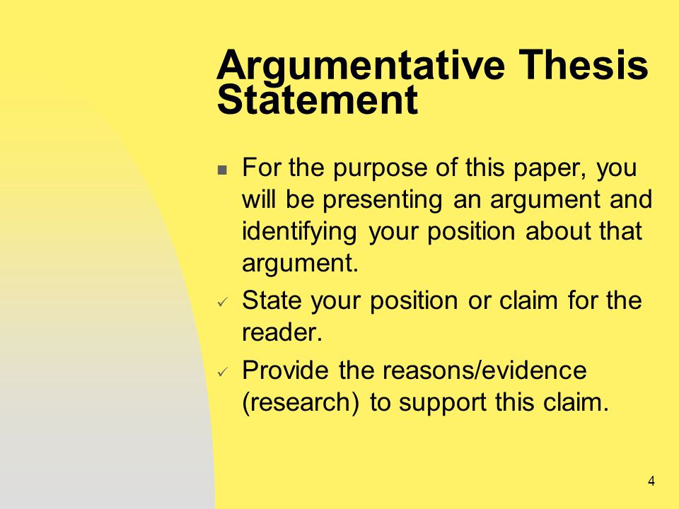 what is the thesis statement of a research paper A thesis statement focuses your ideas into one or two sentences it should present the topic of your paper and also make a comment about your position in relation to the topic your thesis statement should tell your reader what the paper is about and also help guide your writing and keep your argument focused.
