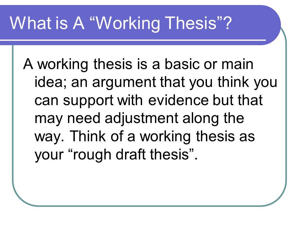 thesis typer