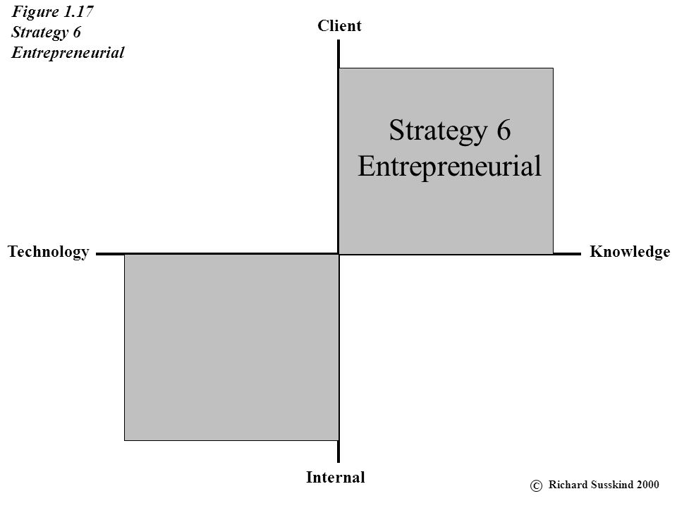 Strategy 6 Entrepreneurial Figure 1.17 Strategy 6 Entrepreneurial