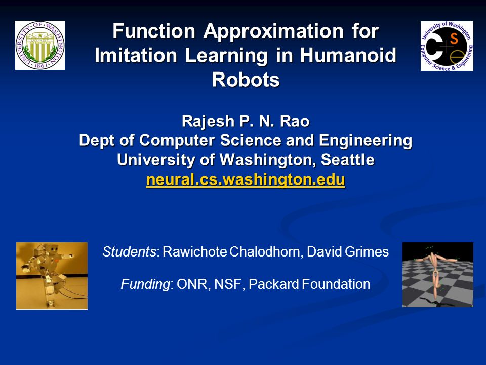 Function Approximation for Imitation Learning in Humanoid