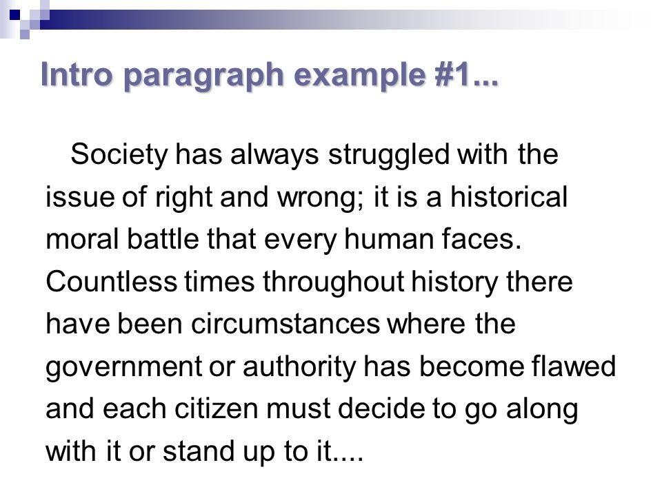 argument essay examples