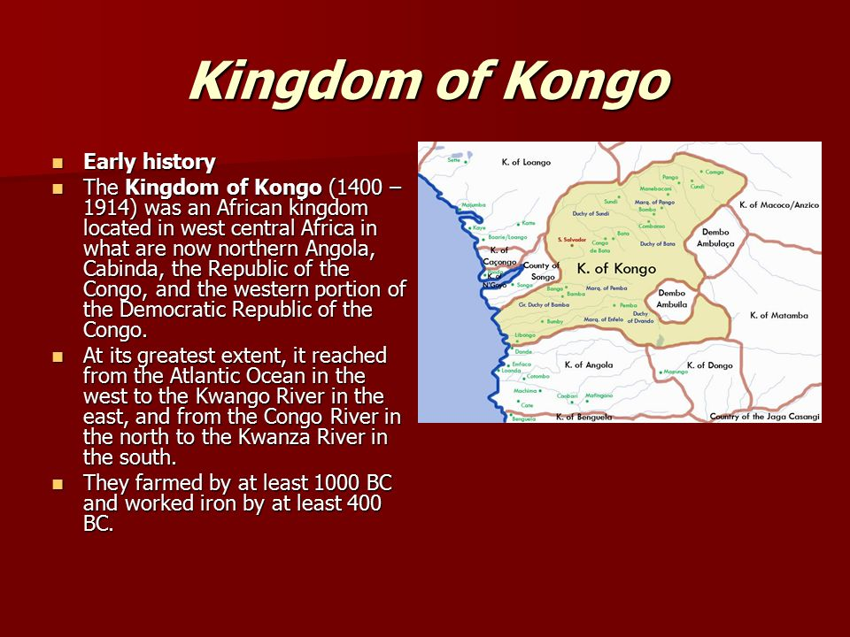 an introduction to the history of the republic of kongo Congo, democratic republic of the - 2017  introduction history geography government maps leaders population flags religion economy climate energy weather data.
