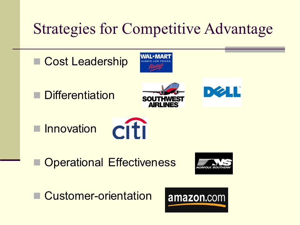 the ways in which telecommunication technology provides competitive advantage to a firm Companies need that special something to draw in new customers and keep them coming back learn about competitive advantage and the different ways.