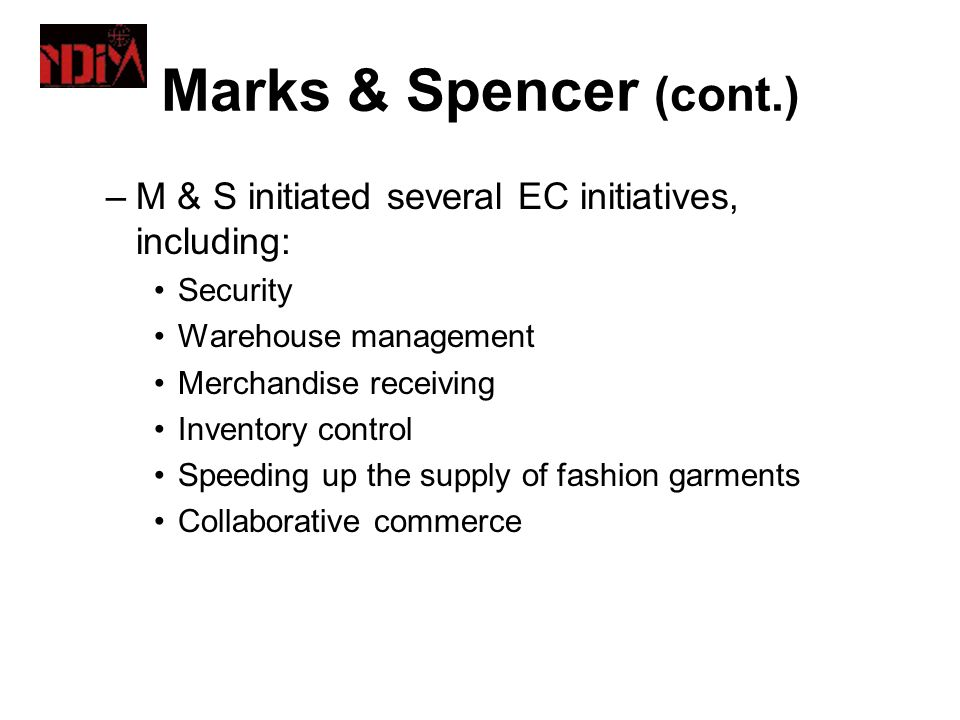 Think, Act, Report: Marks & Spencer