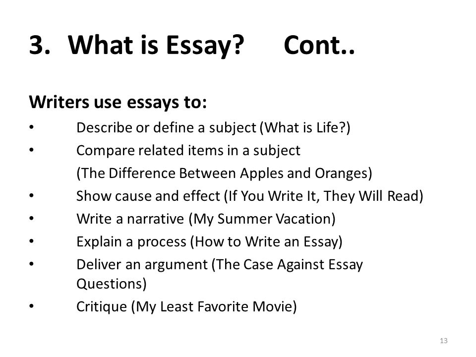 i am anila nosheen from comsats institute of information  what is essay cont what is an essay writers use essays to