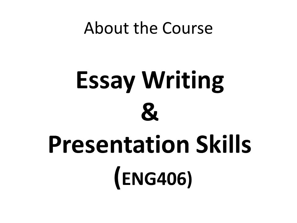 Essay writing skills PowerPoint Presentation, PPT - DocSlides