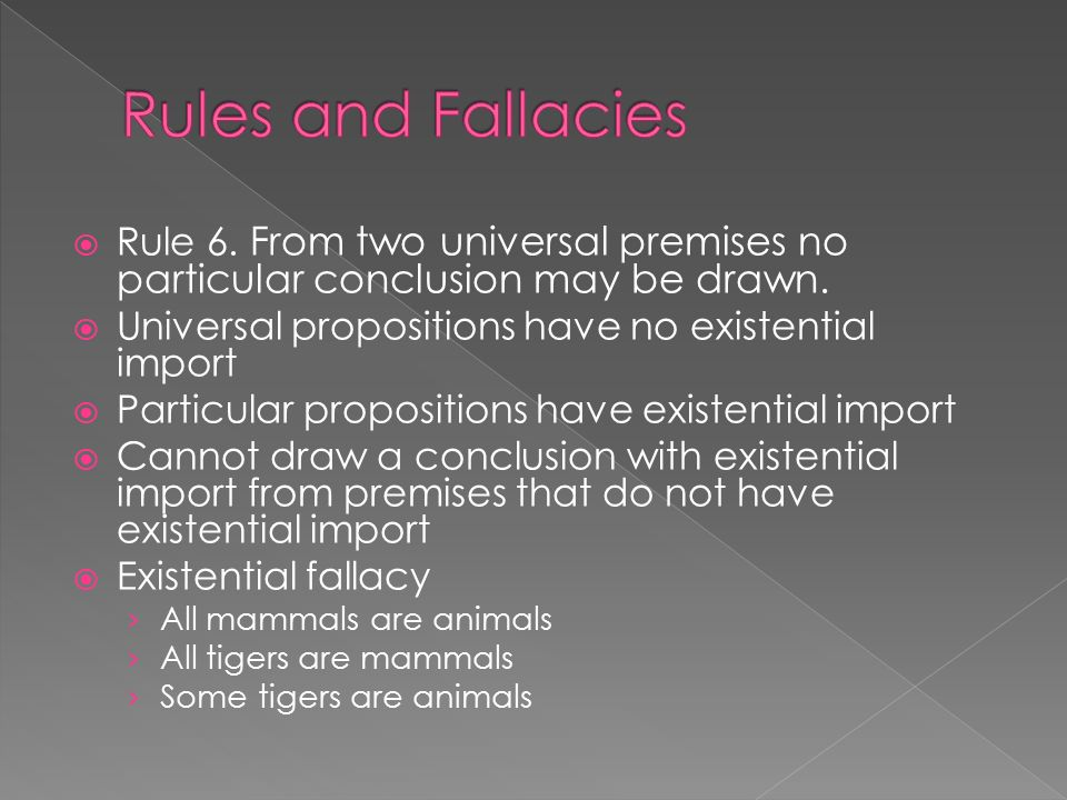 Line Drawing Fallacy : Is ought fallacy slippery slope part to whole