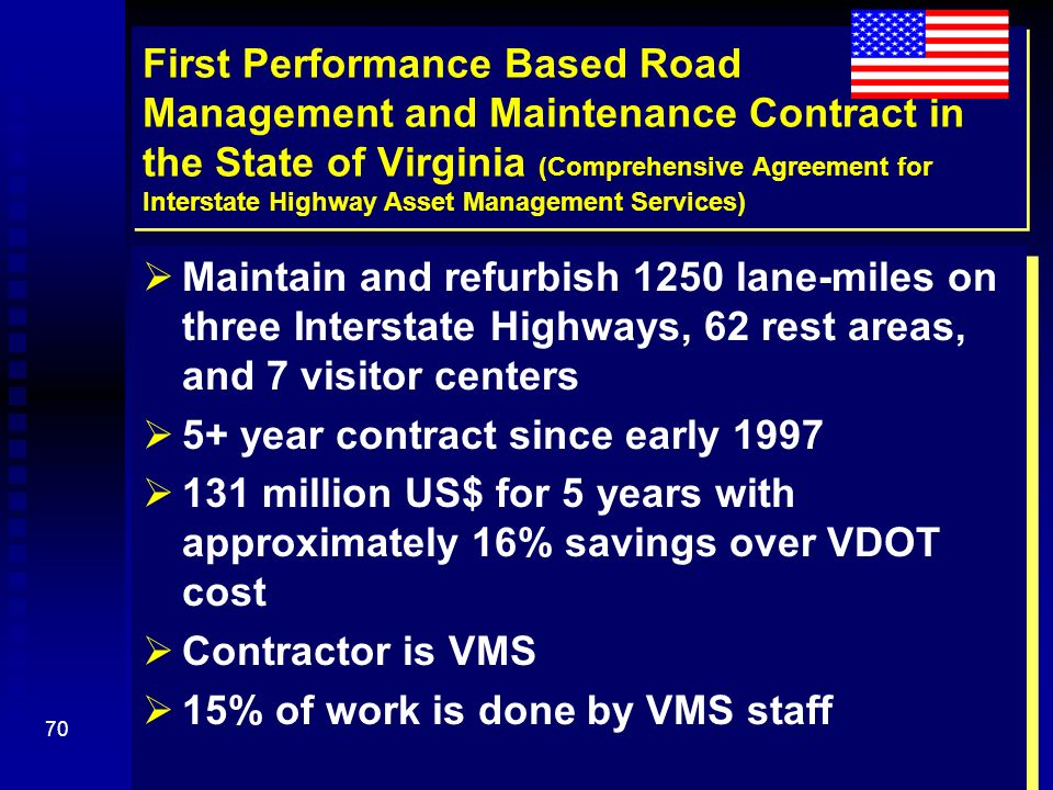 Performance-Based Management And Maintenance Of Roads (Pmmr) - Ppt