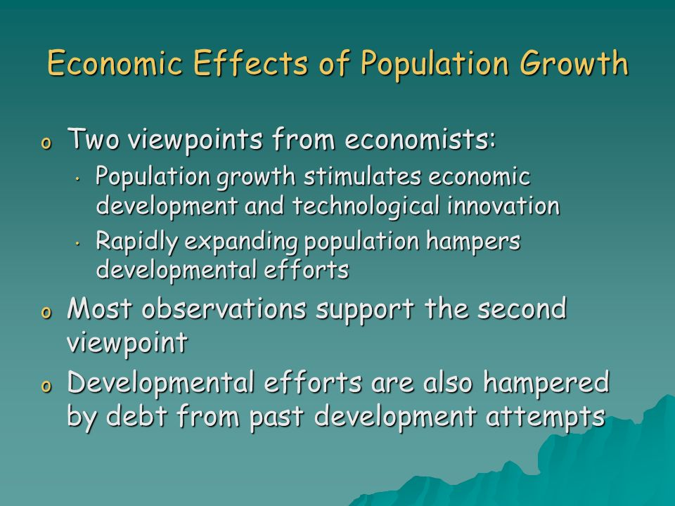 how it affects economic growth Human capital is the foundation for economic growth through education it is  possible to enhance the quality of human capital with help of high quality human .