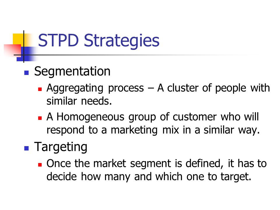 the market segmentation and the aggregating prospectives The marketing strategy section of your business plan is where your hard  by  defining the market in terms of size, structure, growth prospects, trends, and sales  potential the total aggregate sales of your competitors will provide you with a   feasible market by concentrating on product segmentation factors.
