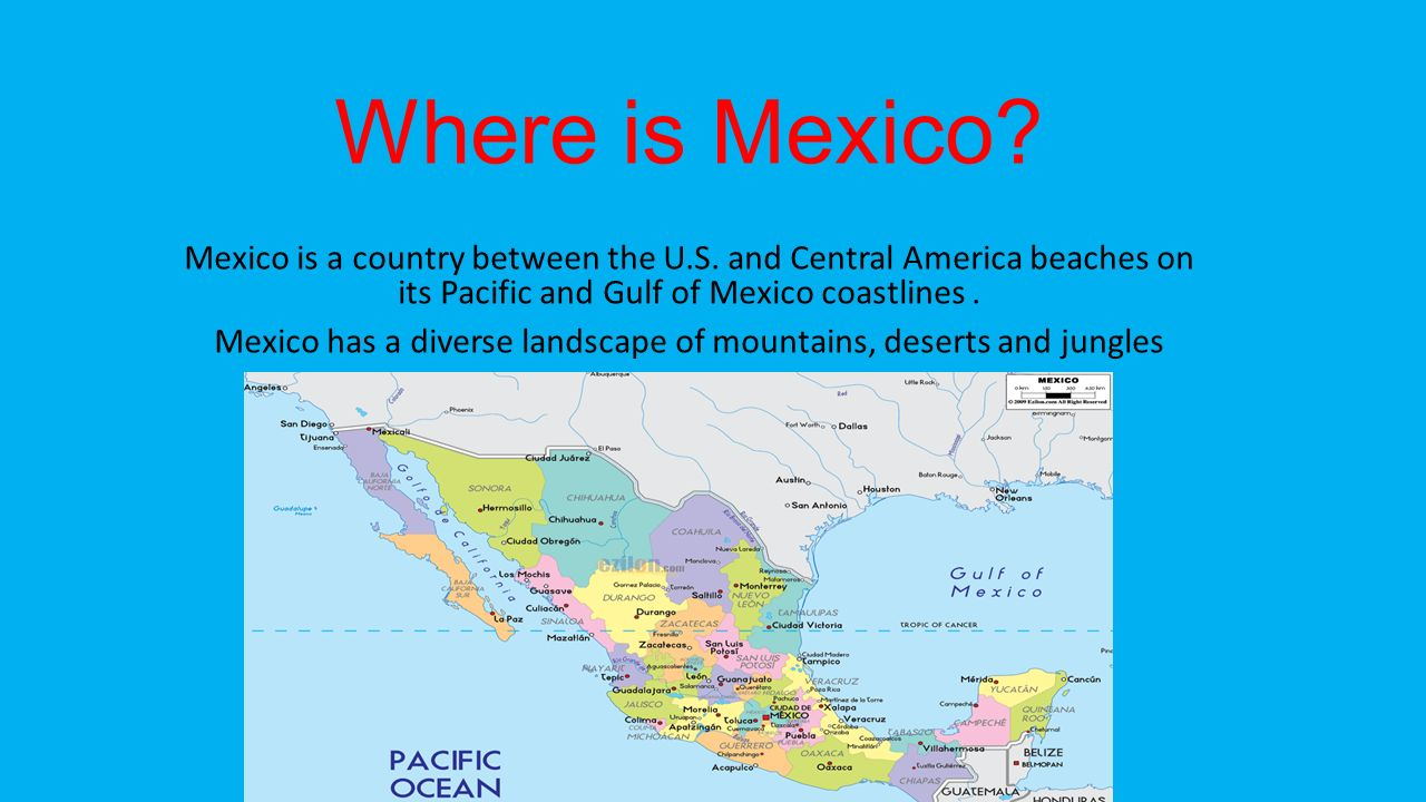 Spanish Ppt Download - Where is mexico
