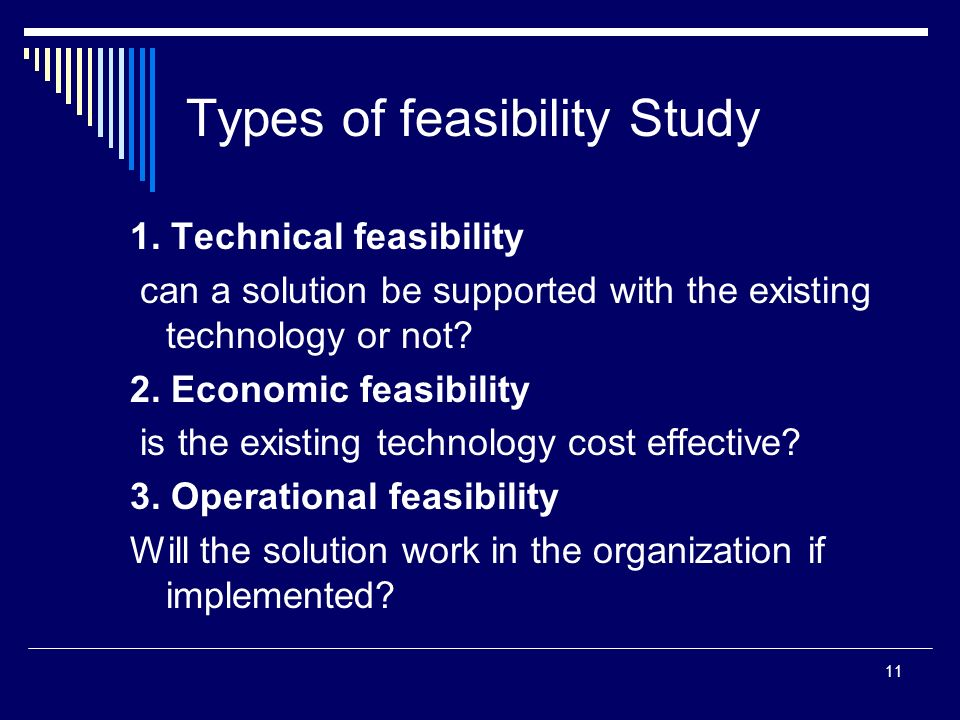 feasibility study legal aspect Economic feasibility legal feasibility implementation feasibility technological   the two most important aspects of a feasibility study are the cost of carrying out.