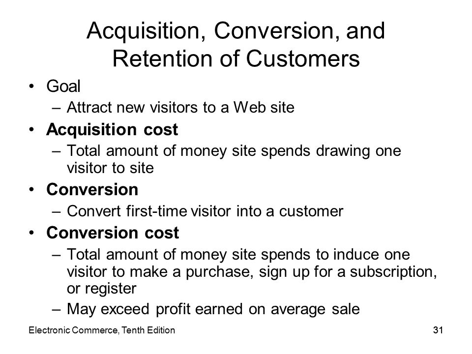 the importance of acquisition conversion and Acquisition, conversion and retention are key elements in a digital marketing strategy these 3 articles look at each of these areas listing tools and techniques that you can apply in your business.
