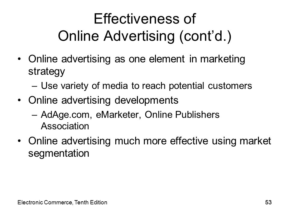 effectiveness of internet advertising Our comprehensive ad effectiveness solutions help media buyers and sellers understand each advertising campaign and decide if their ad spend is delivering the right.