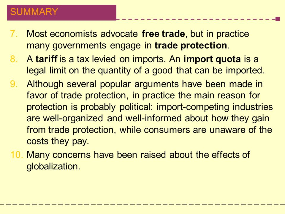6 Main Economic Arguments in Favor of Protection Policy | Trade Policies