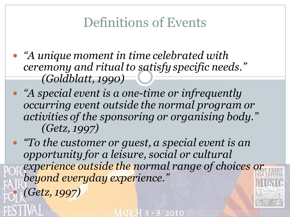 special event management Results 1 - 20 of 41  event management and planning programs at ontario colleges prepare students  with the organizational,  special event planning (1803.