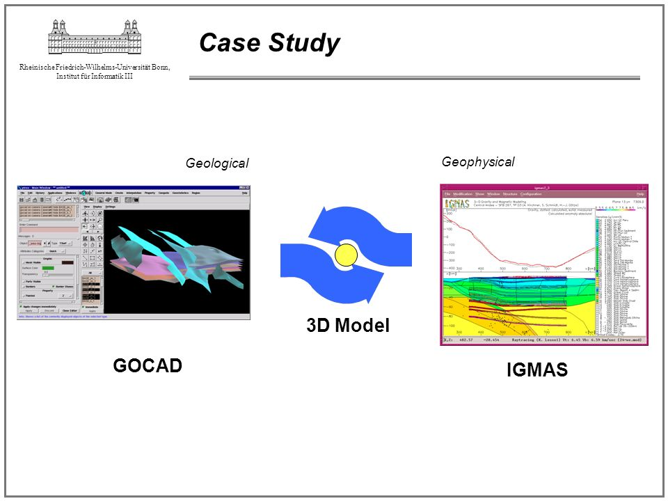 Case Study Geological Geophysical 3D Model GOCAD IGMAS