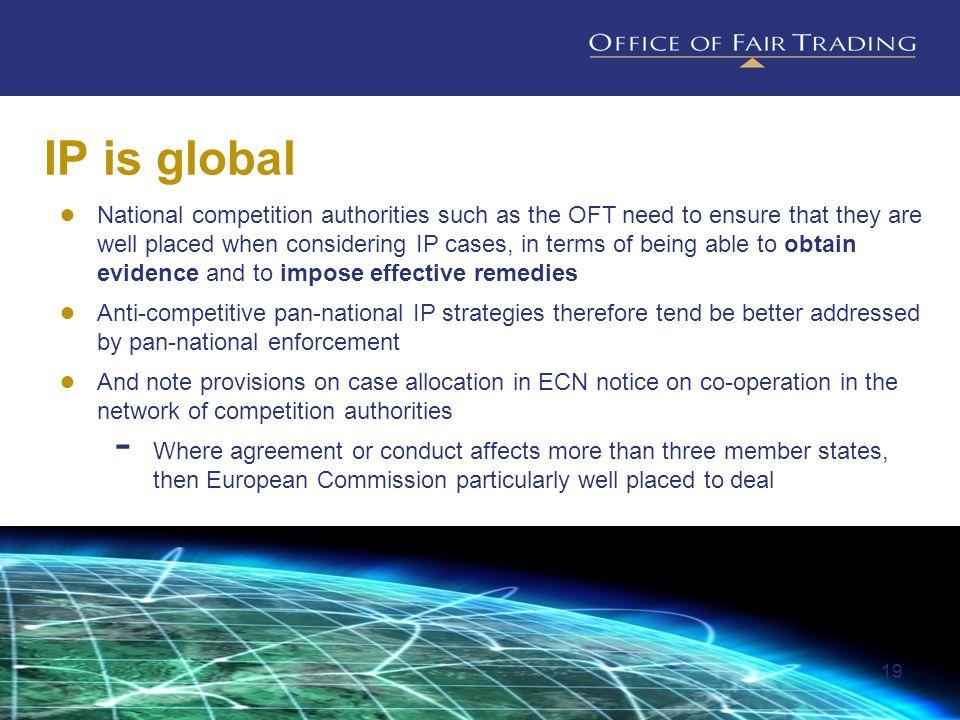 IP is global