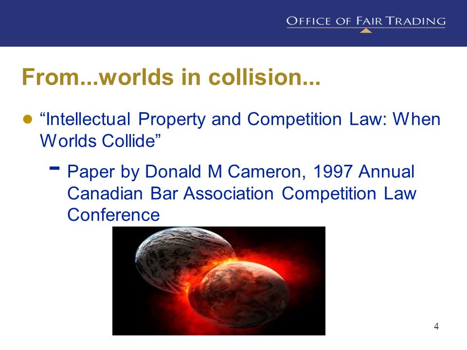 From...worlds in collision...