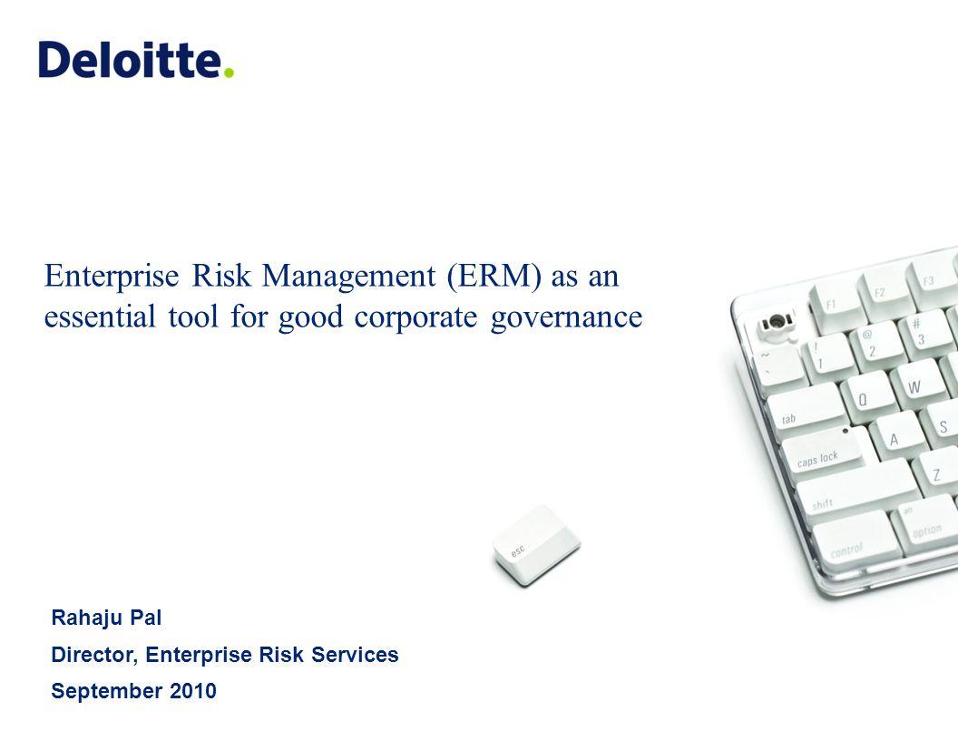 Coso 2016 enterprise risk management aligning risk with strategy - 1 Enterprise Risk Management