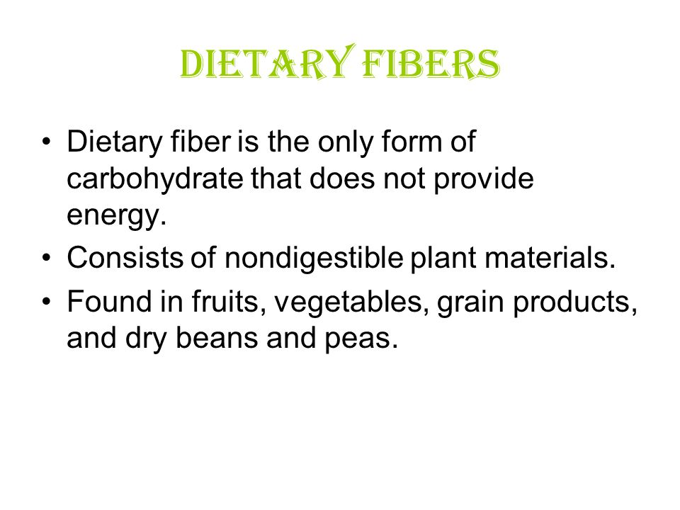 Dietary Fiber, Prebiotics, - PowerPoint PPT Presentation