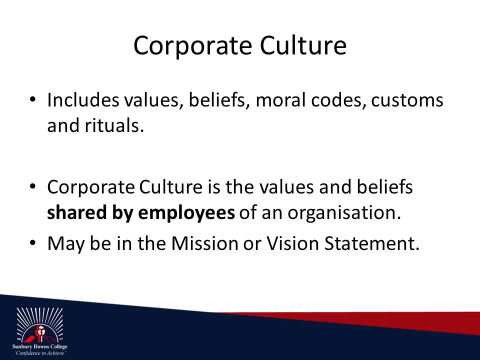 the corporate values beliefs View our corporate solutions request a demo  understanding workplace values  they must answer questions that will point to their deepest values, beliefs, and.