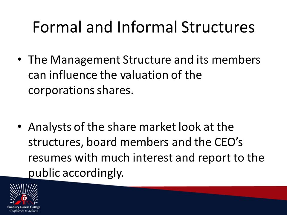 do corporate governance structures influence the