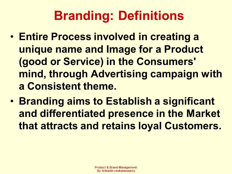 Branding: Definitions