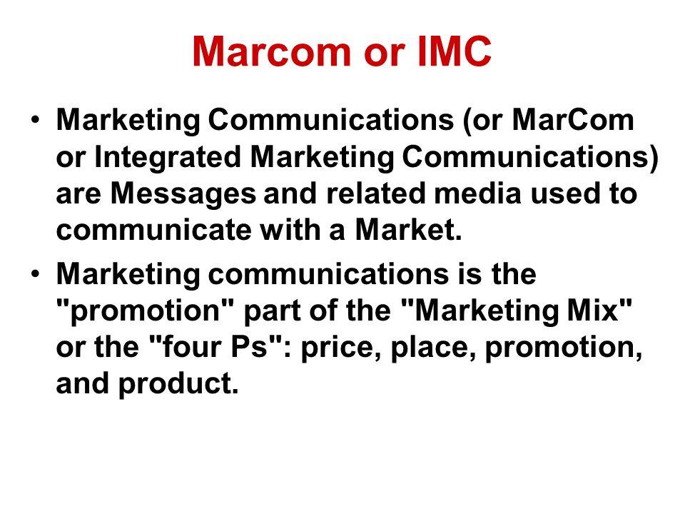 Marcom or IMC
