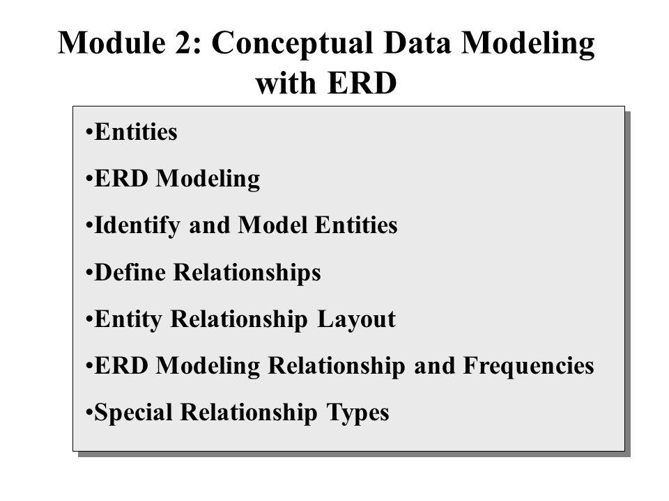 conceptual data model
