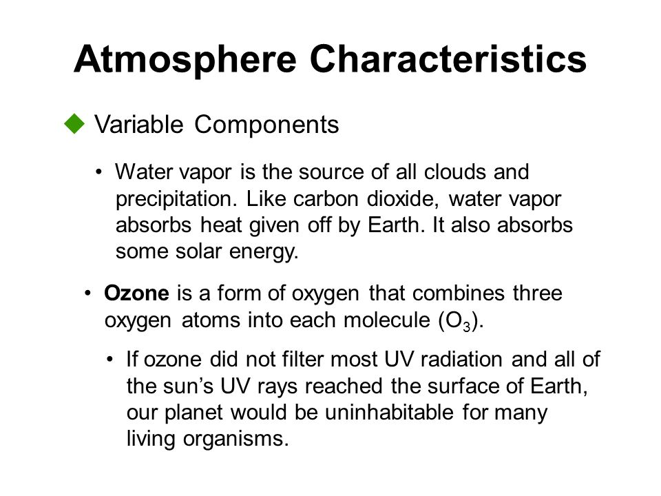 Basic Properties of the Atmosphere - ppt video online download