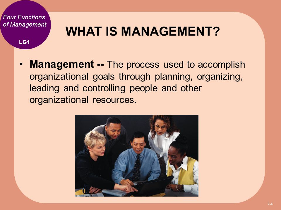 describes the characteristics of the four functions of management Characteristics of the effective leader functions the most effective in management terms comes from the interaction with others.