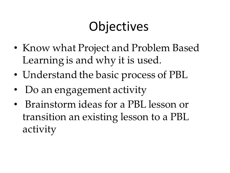 problem based learning process pdf