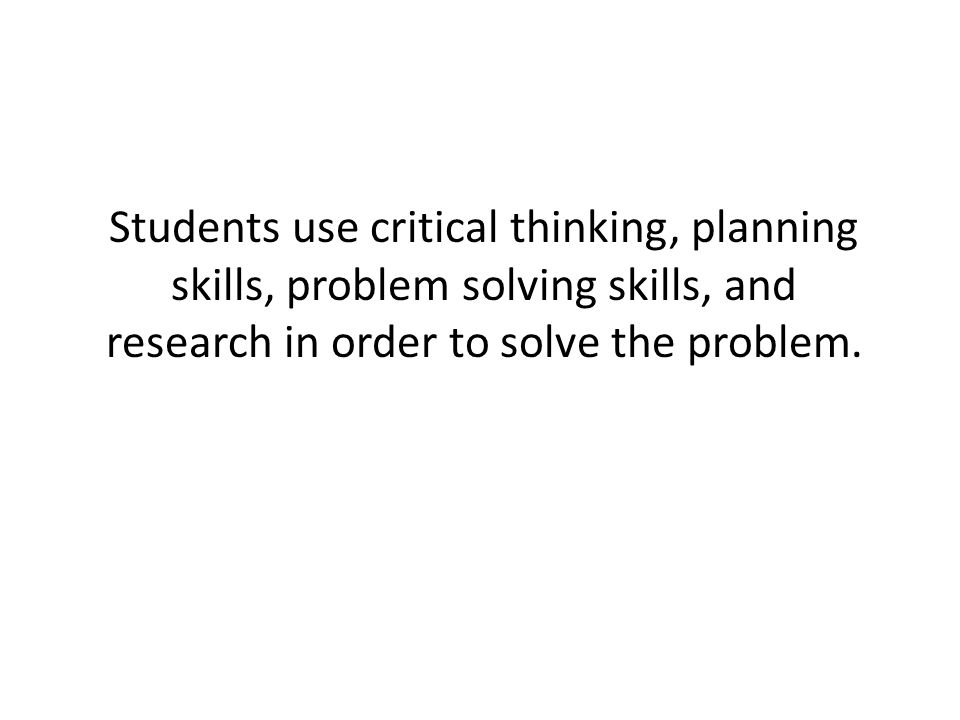 critical thinking and problem solving skills used in literacy program Effective problem-solving and decision-making  is the foundation of effective problem solving  problems and develop the critical thinking skills.