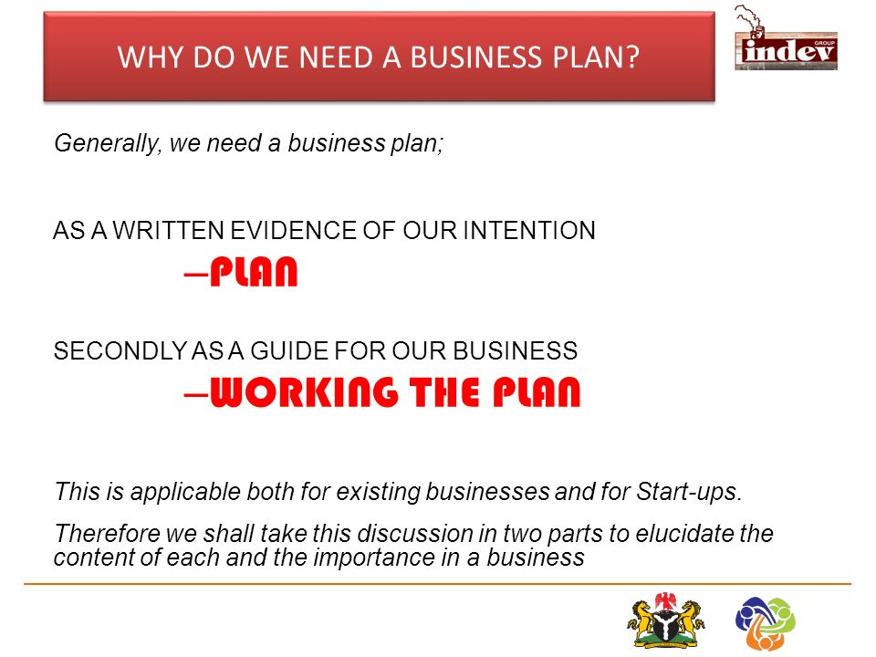 Do banks require a business plan
