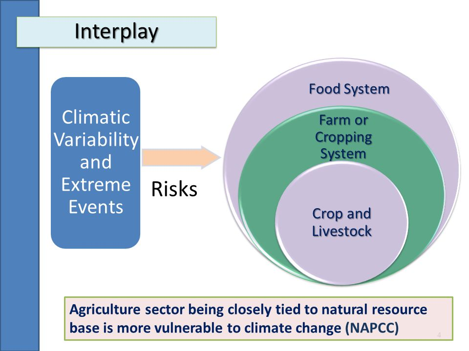 Interplay Risks Climatic Variability and Extreme Events