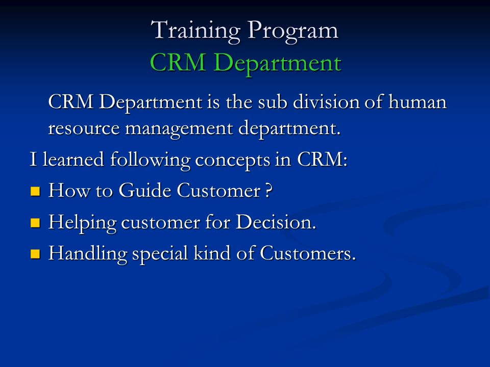 crm dms workshop application