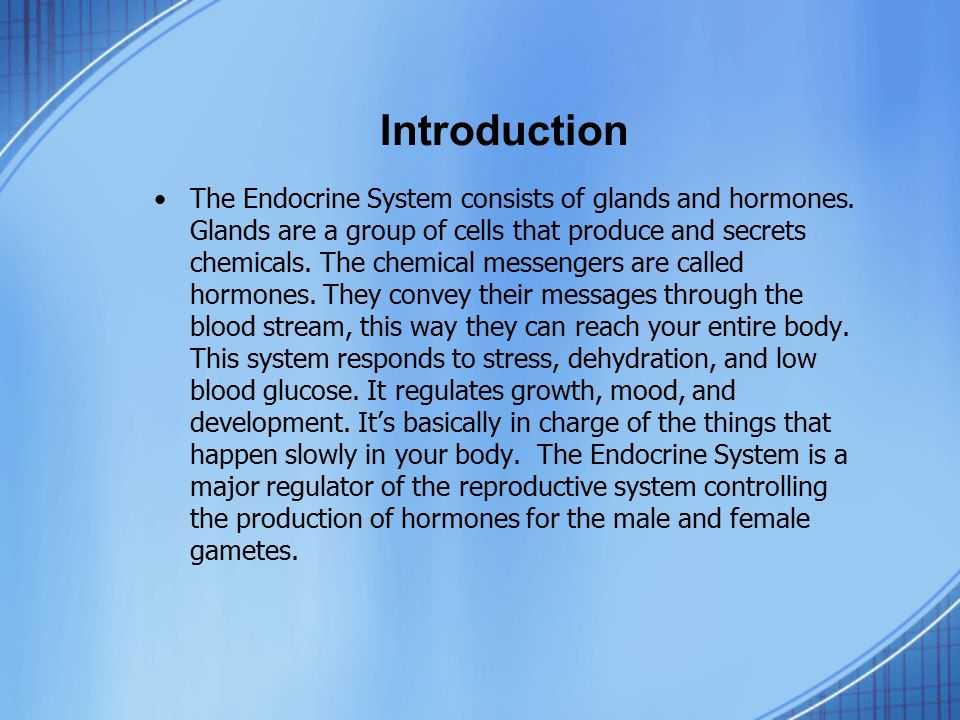 Endocrine and Reproductive System Web Quest - ppt video online ...