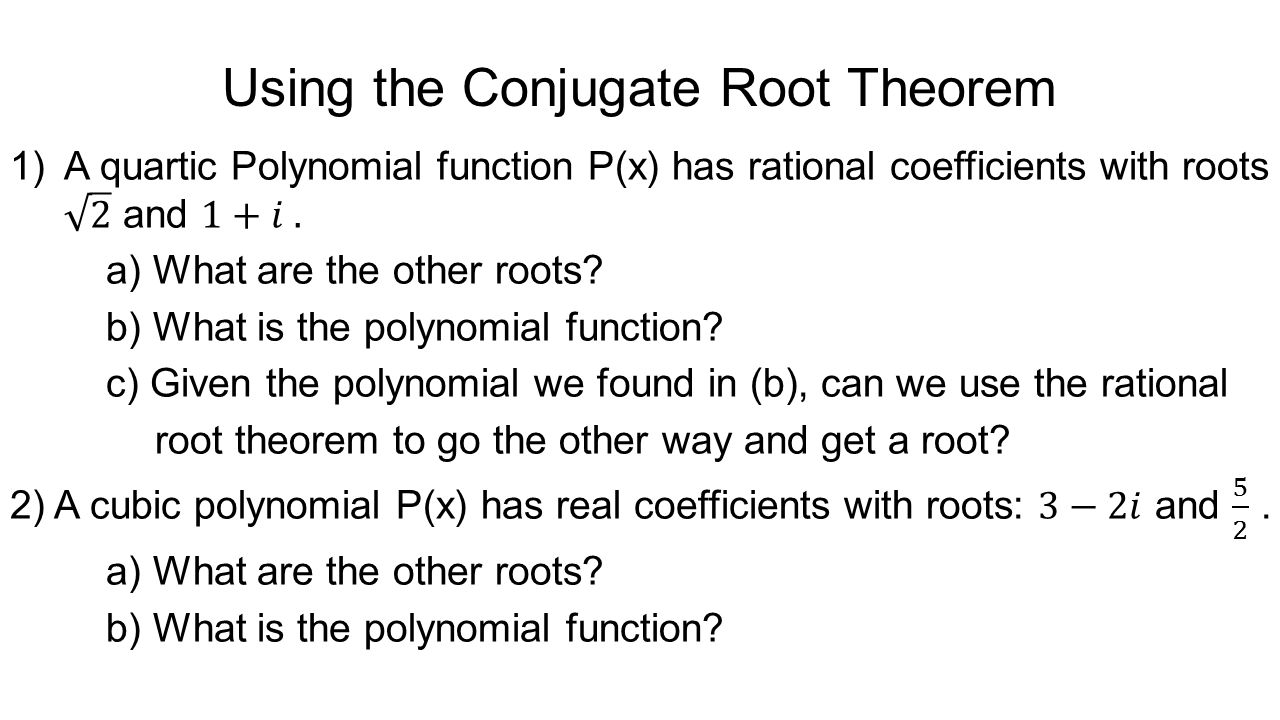 Polynomial functions some terminology ppt video online download 32 using falaconquin