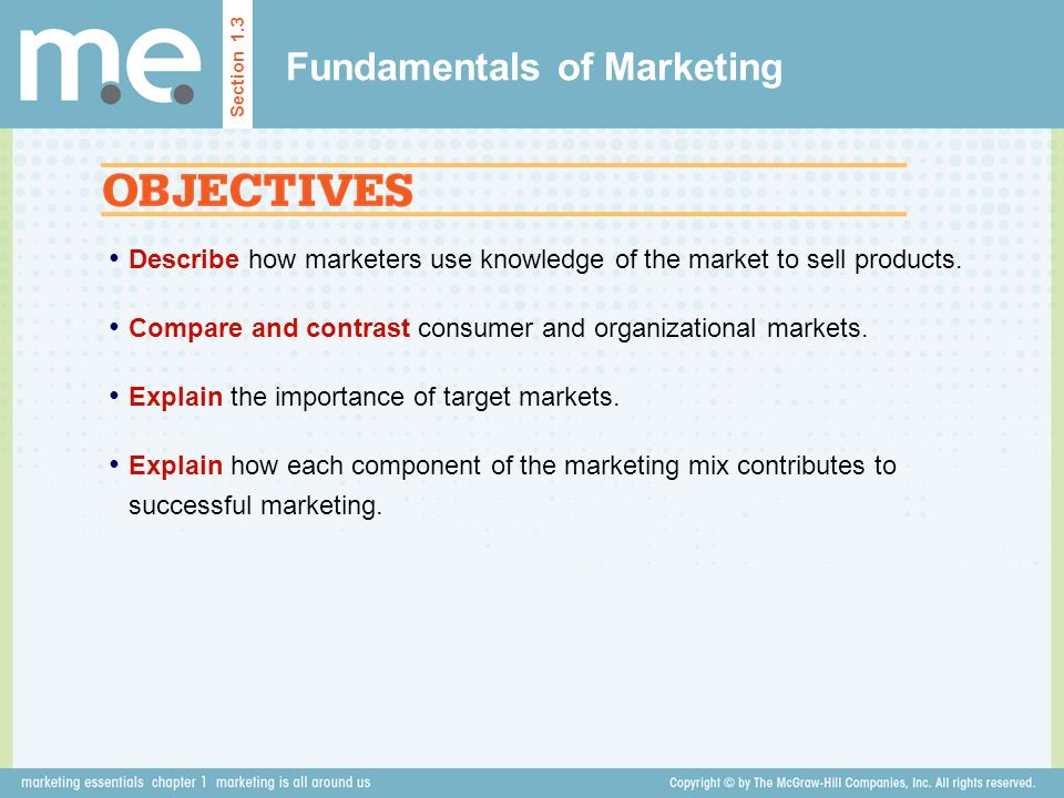 What is the importance of marketing in an organisation?