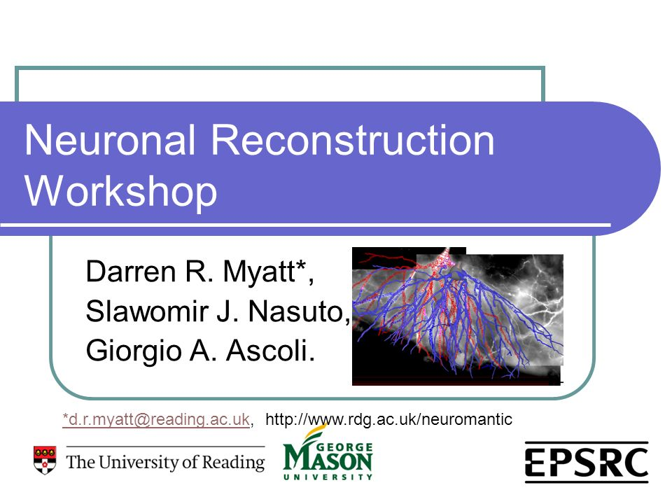 Neuronal Reconstruction Workshop