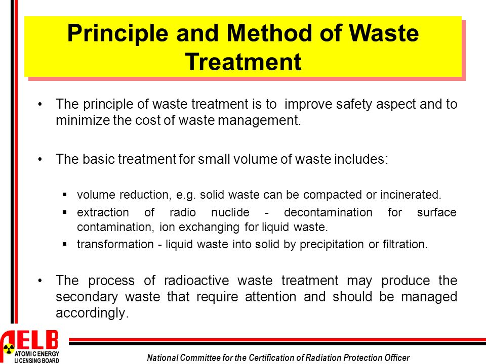 Waste disposal methods must be improved essay