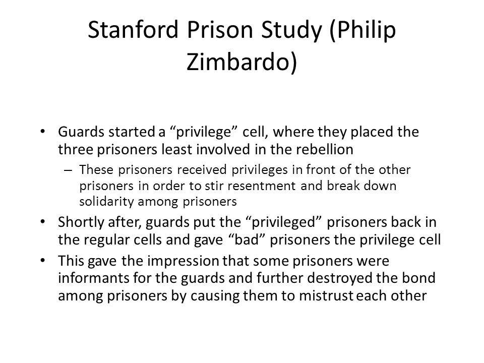 an analysis of the topic of the guards and prisoners The stanford prison experiment is one of the most notorious and after a brief rebellion by the prisoners, the guards felt even more justified in their actions and i believe this quote is a wonderful summation and parallel analysis to the stanford prison experiment and real world.
