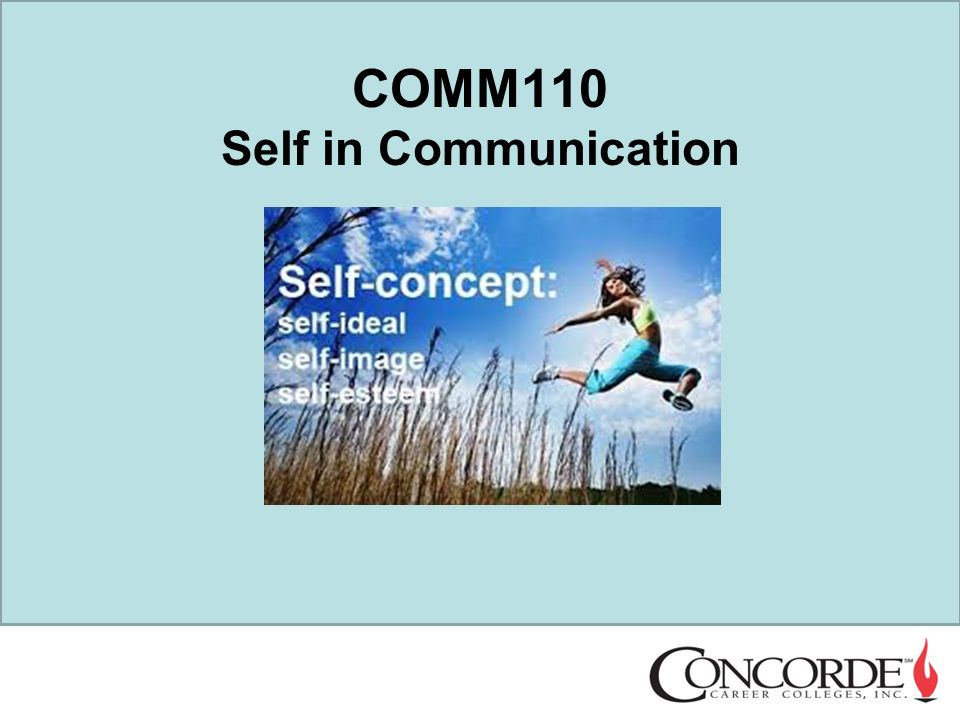 self and interpersonal communication