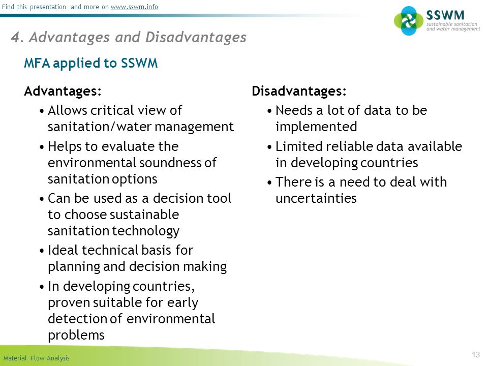 disadvantages of environmental management accounting Read a brief overview of the main advantages and disadvantages of the cost accounting method as it relates to business analysis and operation.